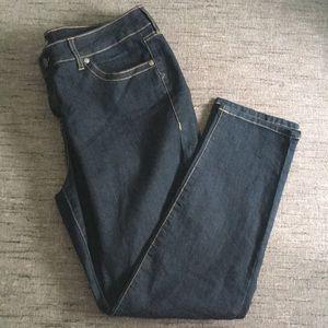 Torrid dark wash skinny leg jeans 18 short